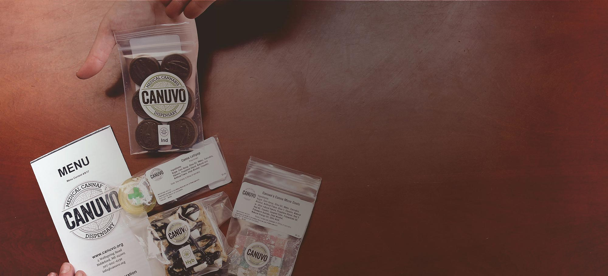 Cannabis Infused Edibles at Canuvo